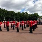 La relève de la Garde à Londres